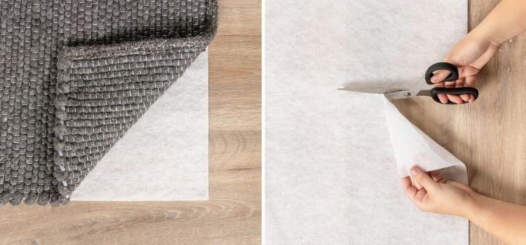 Vloerkleed vloerverwarming antislip