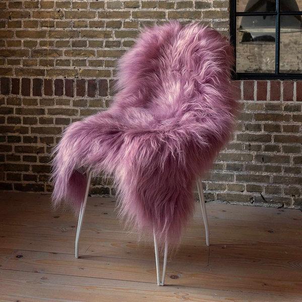 Roze Schapenvacht - Vloerkleed
