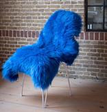 FRAAI Blauw Schapenvacht - Vloerkleed