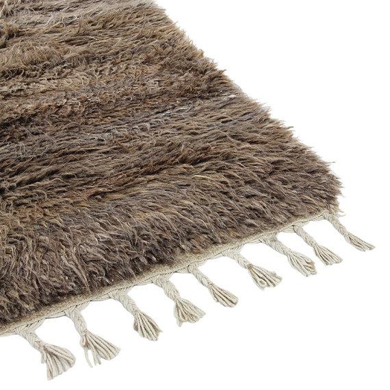 Brinker carpets Berber vloerkleed - Afghano Bruin