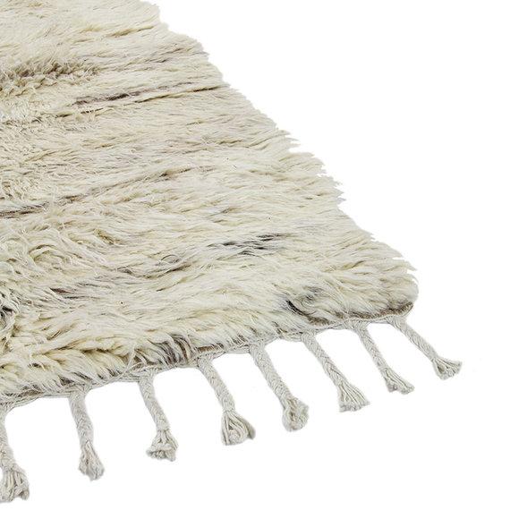Brinker carpets Berber vloerkleed - Afghano Creme/Wit