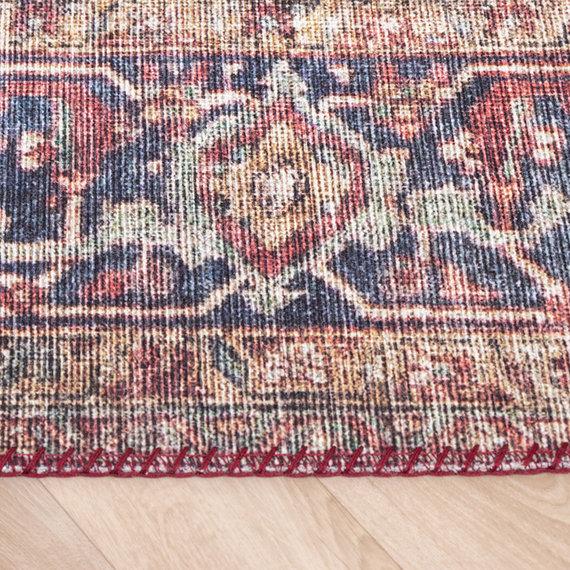 FRAAI Vintage vloerkleed - Lugan Rood