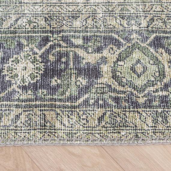 FRAAI Vintage vloerkleed - Lugan Groen
