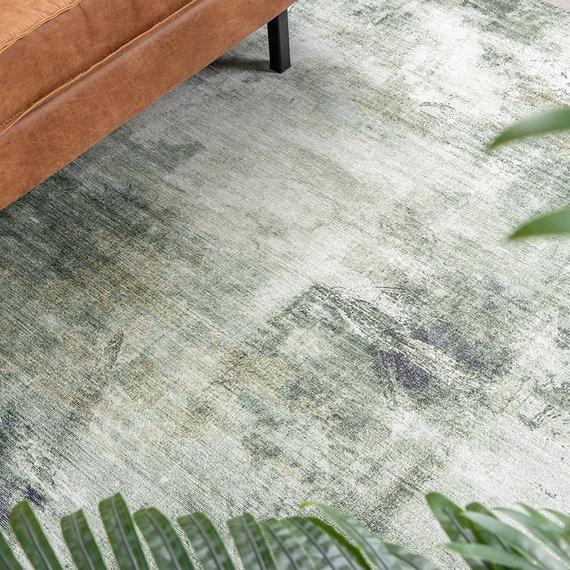 FRAAI Modern vloerkleed - Strong Groen