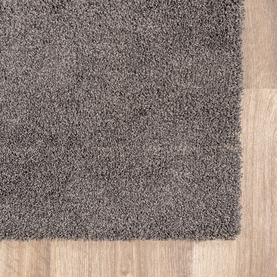 FRAAI Wasbaar vloerkleed - Clean Donkergrijs