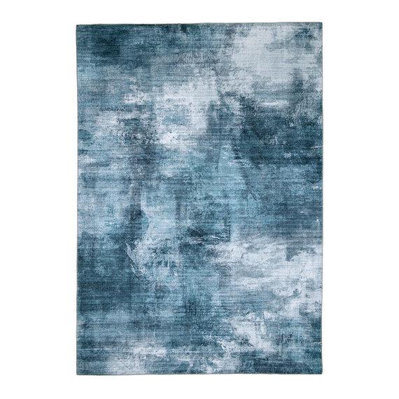 FRAAI Modern vloerkleed - Strong Turquoise