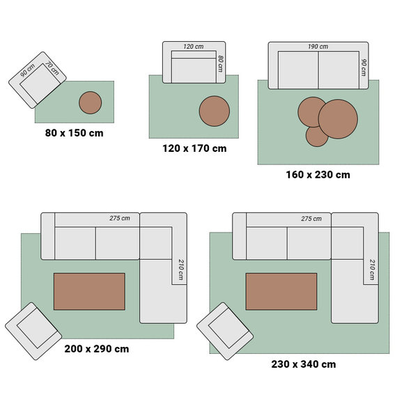 Antoin Carpets Hoogpolig Vloerkleed - Twilight Bruin/Gelemeerd 7799
