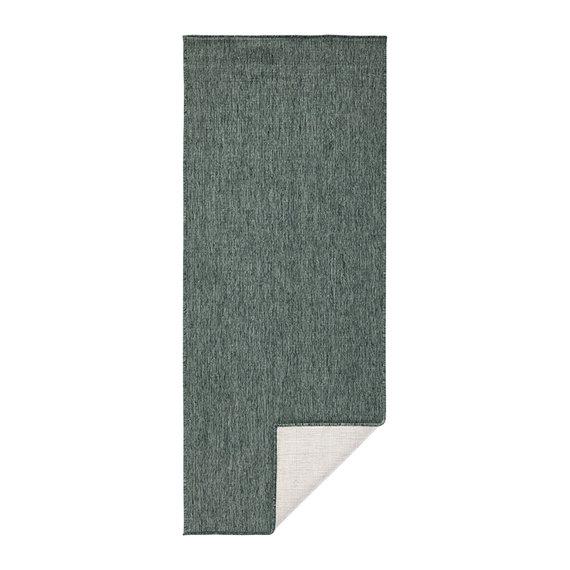 Bougari Balkonkleed - Twin Solid Groen/Creme