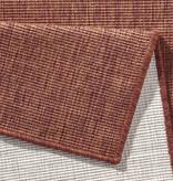 Bougari Balkonkleed - Twin Solid Terra/Creme