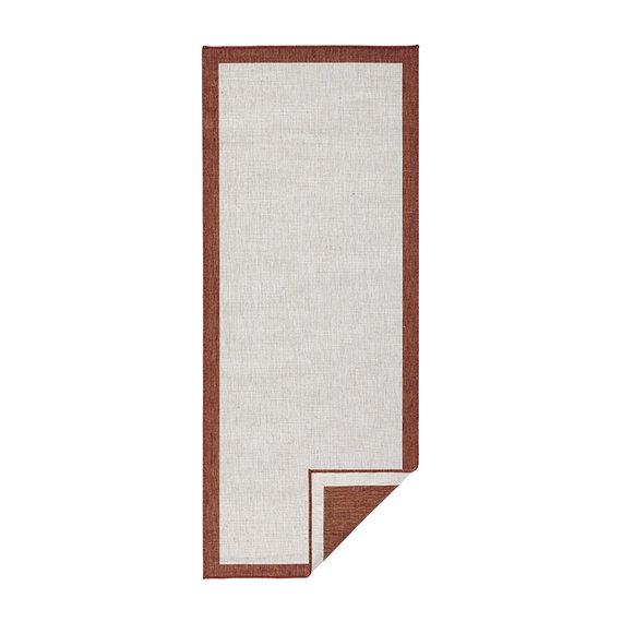 Bougari Balkonkleed - Twin Square Terra/Creme