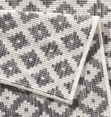 Bougari Balkonkleed - Twin Cubes Grijs/Creme
