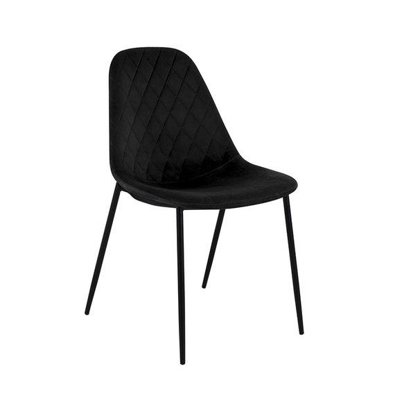 Kick Collection Velvet stoel - Tara Zwart