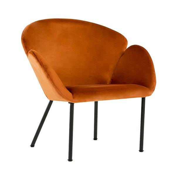 Velvet fauteuil - Tess Oranje
