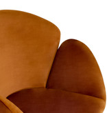 Kick Collection Velvet fauteuil - Tess Oranje