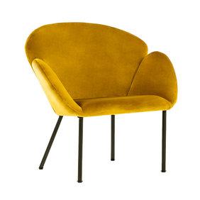 Kick Collection Velvet fauteuil - Tess Goud