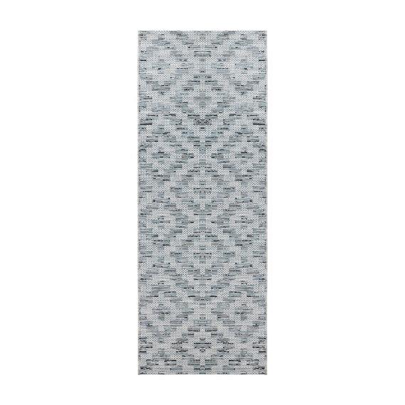 ELLE DECORATION Balkonkleed - Curious Creil Blauw Creme