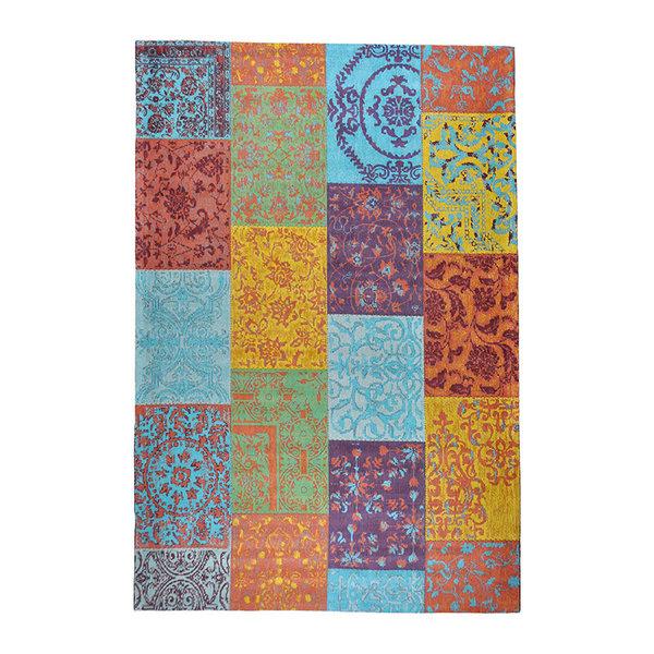 Patchwork vloerkleed - Delany Multicolor