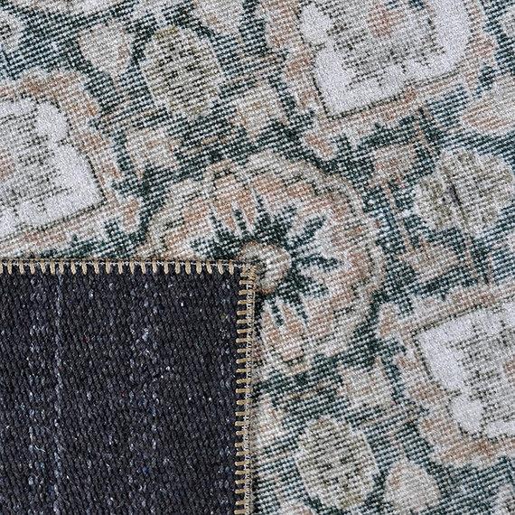 Rebelle Vintage vloerkleed - Fae Beige Blauw