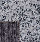 Rebelle Vintage vloerkleed - Fae Noell Zwart Grijs