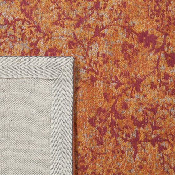 Rebelle Vintage vloerkleed - Therese Oranje