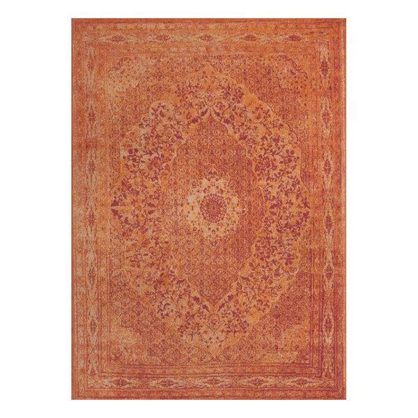 Vintage vloerkleed - Therese Oranje