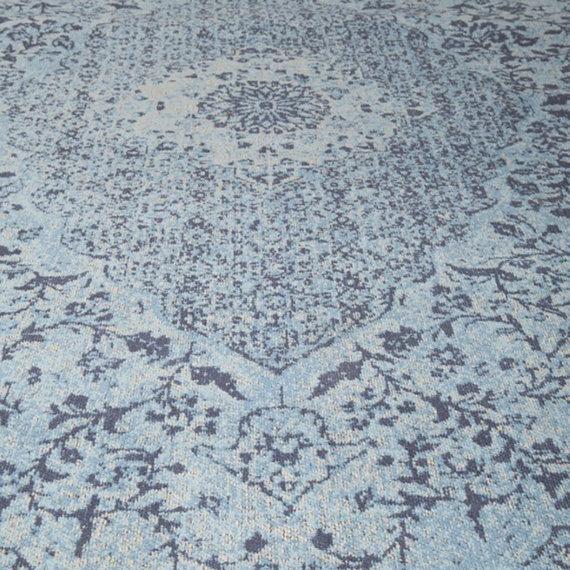 Rebelle Vintage vloerkleed - Therese Blauw