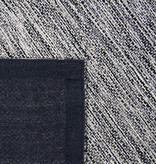 Rebelle Modern vloerkleed - Lisette Zwart Grijs