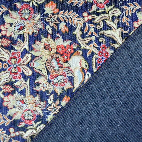 Rebelle Vintage vloerkleed - Nadine Blauw Rood