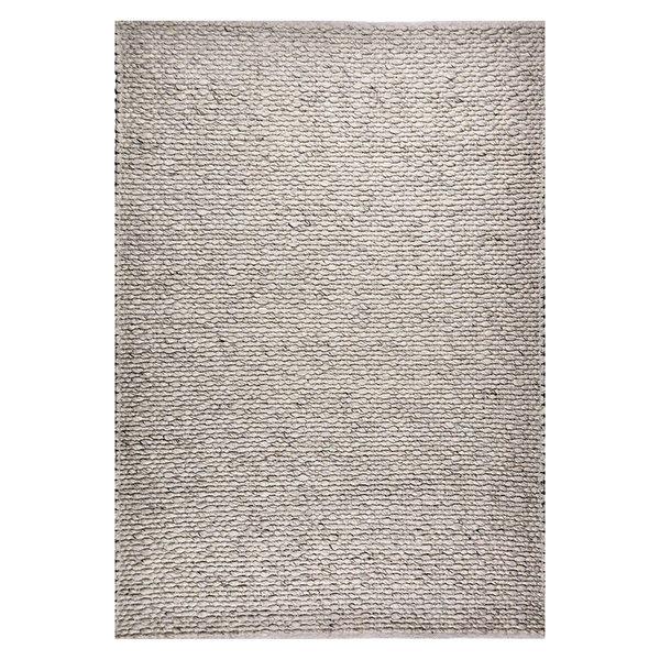 Wollen vloerkleed - Leona Zilver Grijs