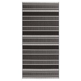 Bougari Balkonkleed - Strap Zwart