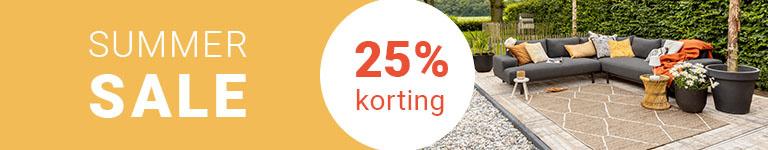 Vloerkleden Summer Sale - 25% korting op heel veel vloerkleden