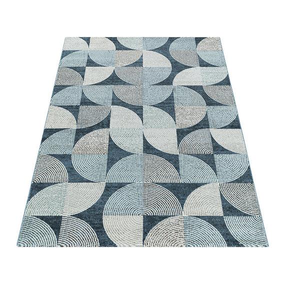 Adana Carpets Modern vloerkleed - Regal Circlebox Blauw
