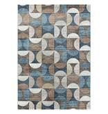 Adana Carpets Modern vloerkleed - Regal Circlebox Bruin