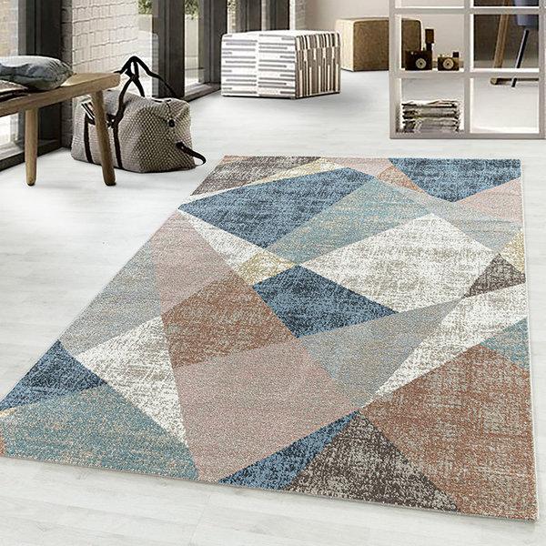Modern vloerkleed - Regal Design Multicolor