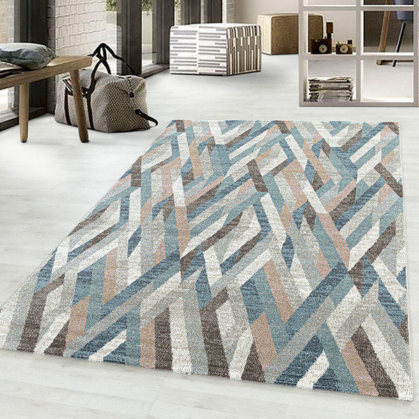 Modern vloerkleed - Regal Maze Multicolor