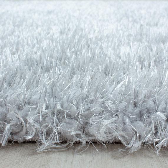 Adana Carpets Rond Hoogpolig vloerkleed - Blushy Lichtgrijs