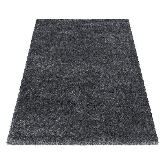 Adana Carpets Hoogpolig vloerkleed - Blushy Donkergrijs