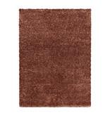 Adana Carpets Hoogpolig vloerkleed - Blushy Terra/Bruin