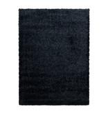 Adana Carpets Hoogpolig vloerkleed - Blushy Zwart