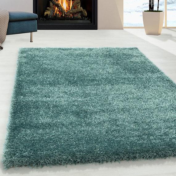 Adana Carpets Hoogpolig vloerkleed - Blushy Turquoise