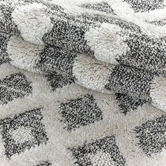 Adana Carpets Scandinavisch vloerkleed - Pitea Knot Grijs/Creme
