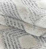 Adana Carpets Scandinavisch vloerkleed - Pitea Ethno Creme/Grijs