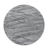 Adana Carpets Rond scandinavisch vloerkleed - Pitea Double Grijs