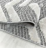 Adana Carpets Scandinavisch vloerkleed - Pitea Panel Grijs/Creme