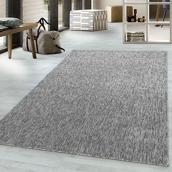 Adana Carpets Laagpolig vloerkleed - Nani Lichtgrijs