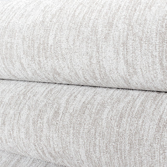 Adana Carpets Laagpolig vloerkleed - Nani Creme/Wit