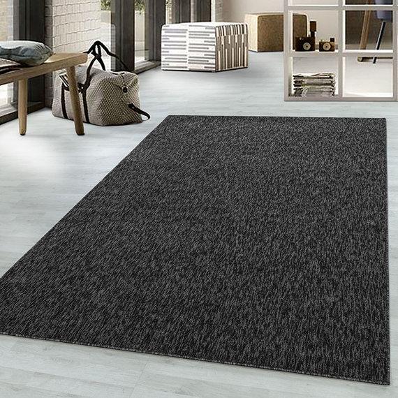 Adana Carpets Laagpolig vloerkleed - Nani Antraciet
