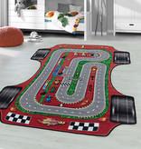 Adana Carpets Speelkleed - Pleun Racebaan Rood
