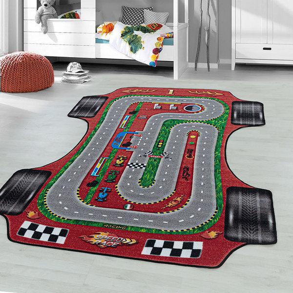 Speelkleed - Pleun Racebaan Rood