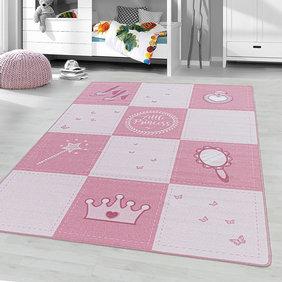Adana Carpets Kindervloerkleed - Pleun Little Princess Roze